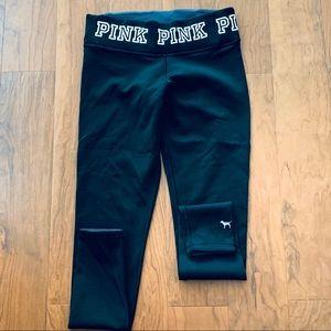 VS PINK Black athletic leggings